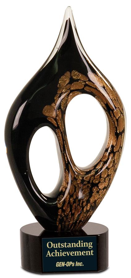 Coral Art Glass Award