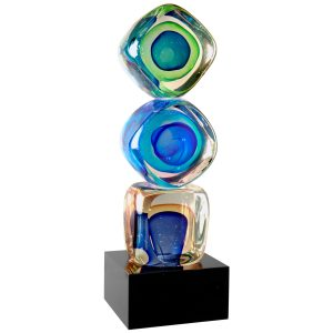 Stacked Blocks Art Glass Award