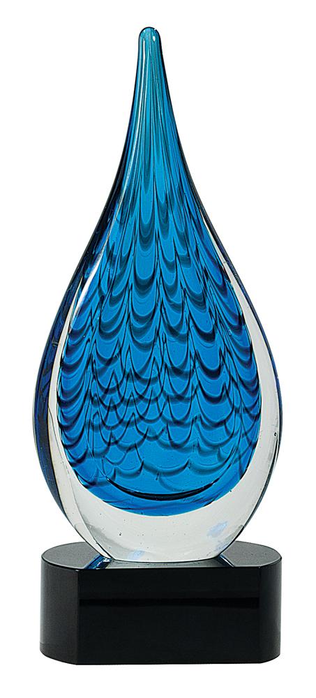 Raindrop Art Glass Award